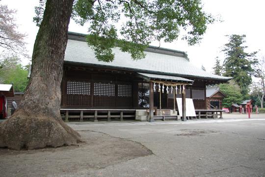 鷲宮神社拝殿