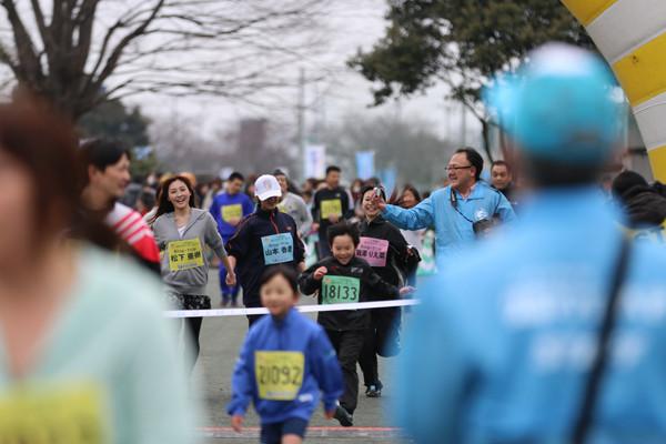 久喜マラソンRing-Tripゴール