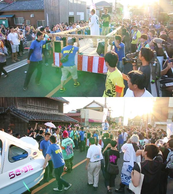 土師祭2014 オタクニカルパレードの神谷明ステージ