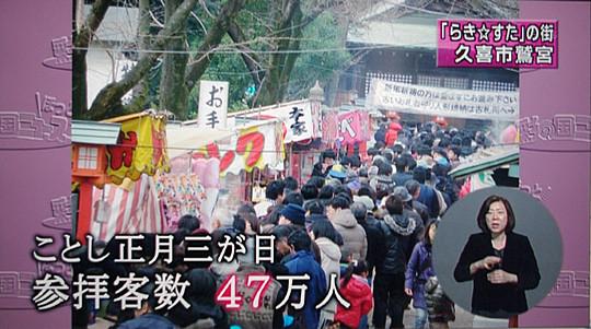 鷲宮神社初詣紹介 彩の国ニュースほっと