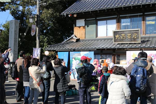 着ぐるみーず撮影会 鷲宮神社2015年初売り