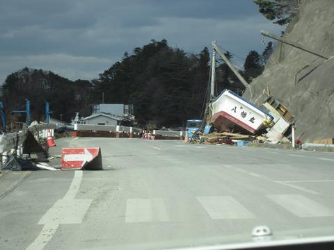 宮城県女川震災被害画像(11年4月3日)13