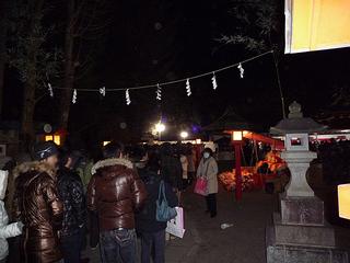 鷲宮神社 2010年1月1日初詣の様子