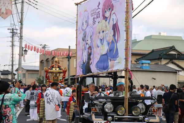 土師祭2014-千貫神輿 昼の部折り返し渡御開始