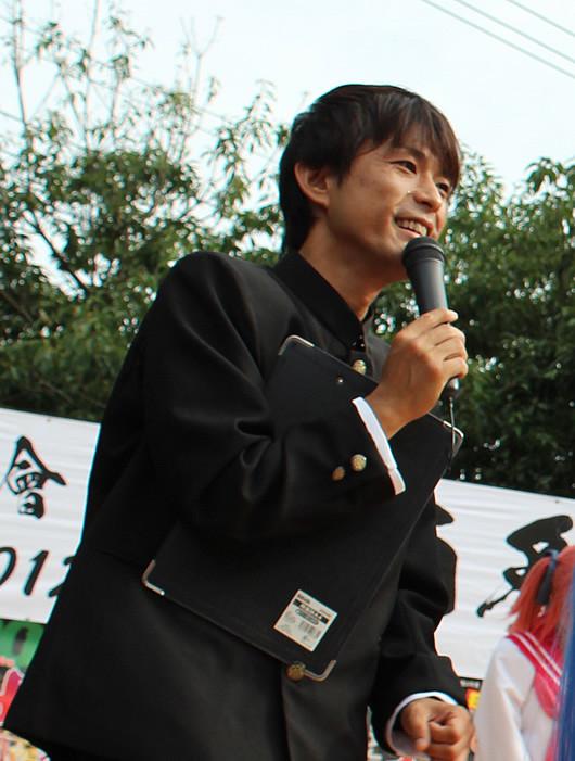 MC森雅紀役の森雅紀さん