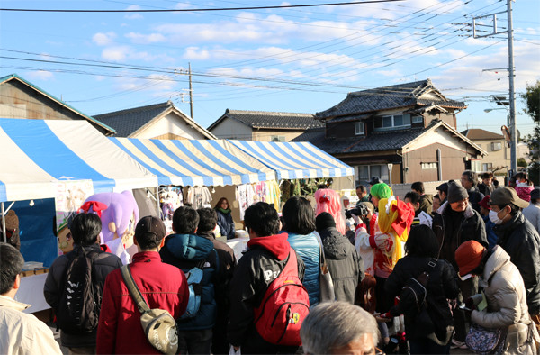かがみん撮影会2 鷲宮神社2015年初売り