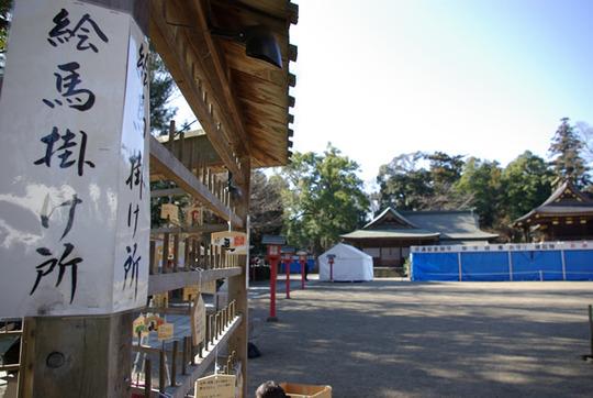 クリスマスイブの鷲宮神社