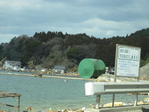宮城県女川震災被害画像(11年4月3日)17