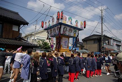 12:59 らき☆すた神輿 昼の部