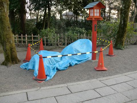 鷲宮神社の被害