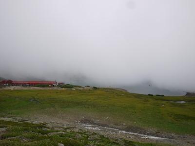 白馬大池と山荘