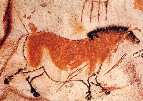 cavalo em Lascaux