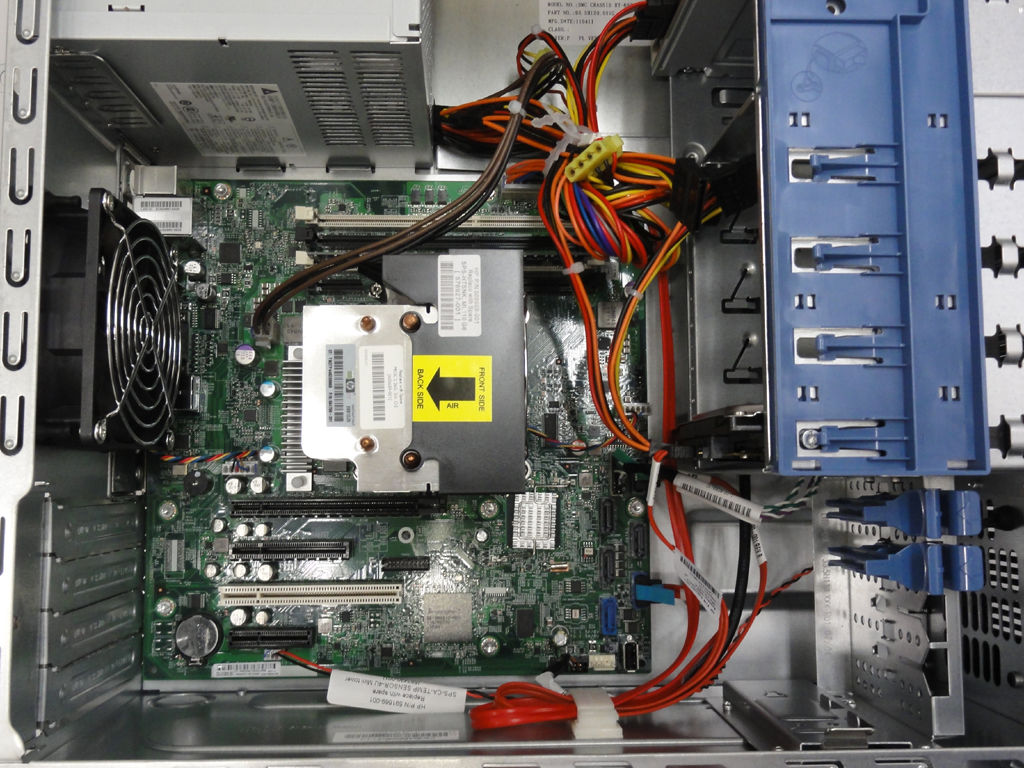 Proliant ml110 g7 windows 2003 server