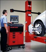 4輪アライメント測定調整設備