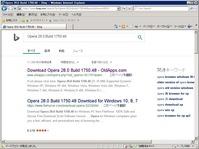 WindowsServer2003にOperaを08