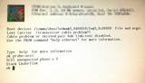 SPARCstation SCSI Unexprected Phase Error