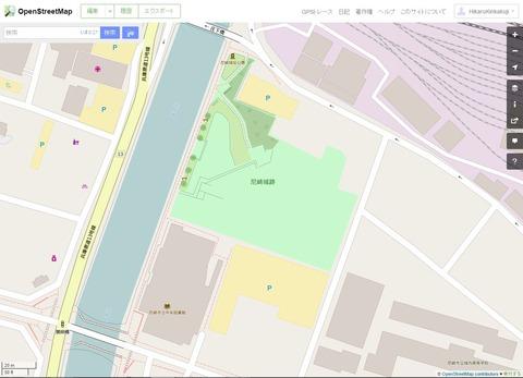 尼崎城160807