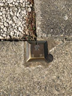 神奈川県金属標