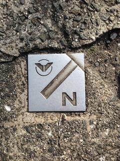 南海電気鉄道金属プレート