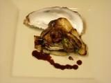牡蠣 ポルチーニ
