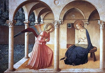 550px-ANGELICO,_Fra_Annunciation,_1437-46_(2236990916)