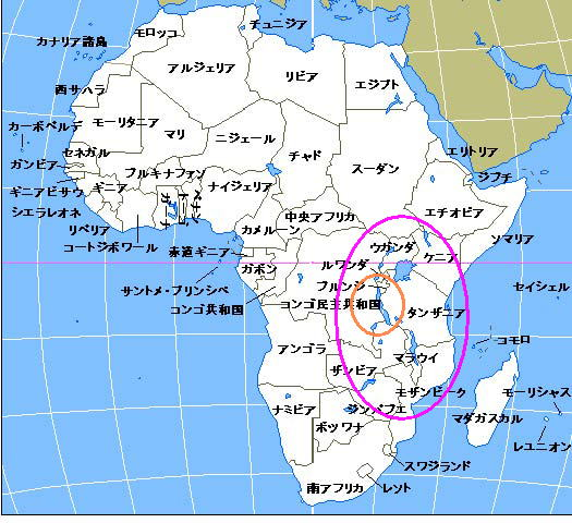 はアフリカに住む淡水魚で日本 ...