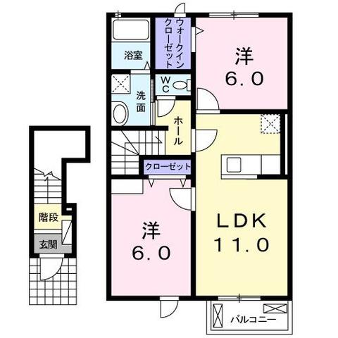 上愛子アパート2203