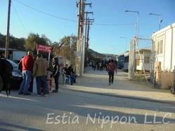 ギリシャ レスボス島 難民危機 難民問題