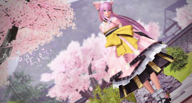 桜ちびEsuteruPNG