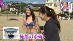 関西ローカル「ten」でビキニ女子の具がハミでる放送事故