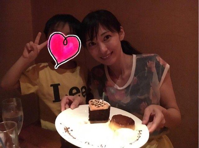 【芸能】飯田圭織、誕生日祝いのフレンチディナーに喜び「主人がお店にお願いして」