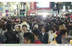 渋谷ハロウィンで痴漢される女子続出 被害ツイートがエグい