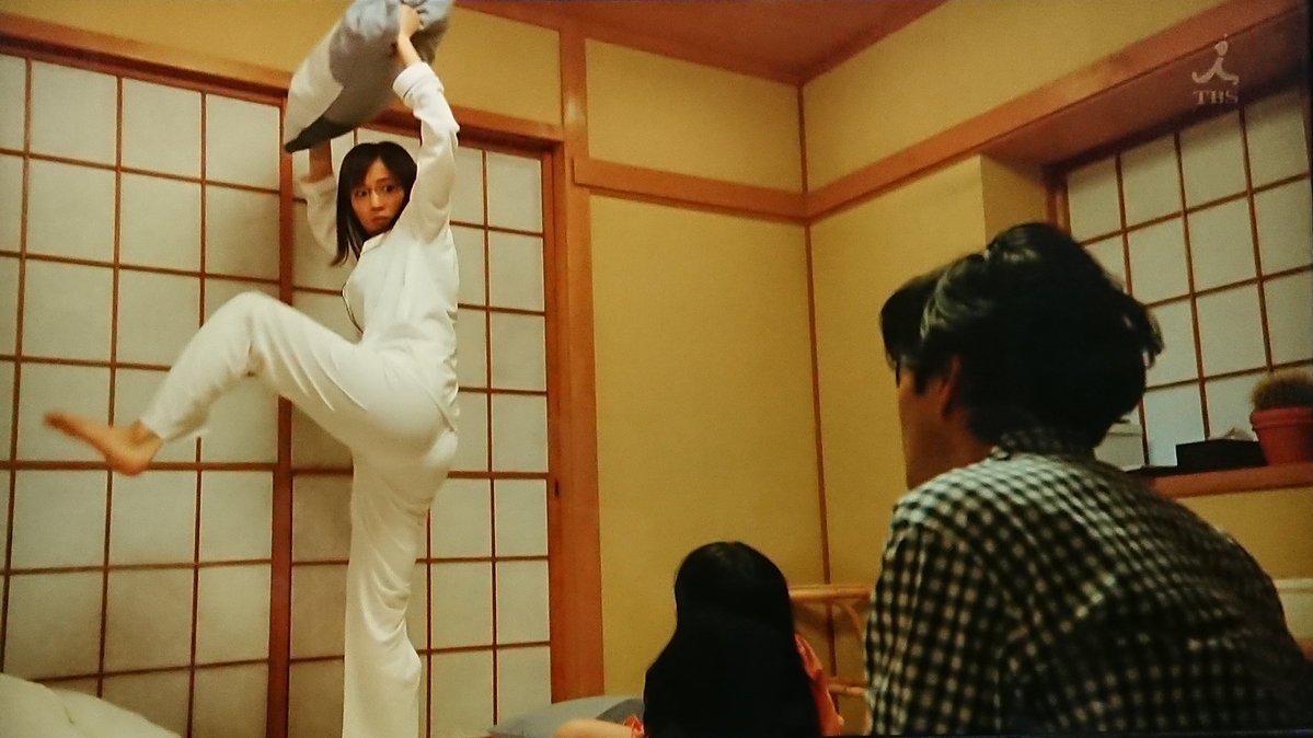 【芸能】見せすぎ! 綾瀬はるか 片足を上げた瞬間の食い込みヒップに視聴者がクギ付け!