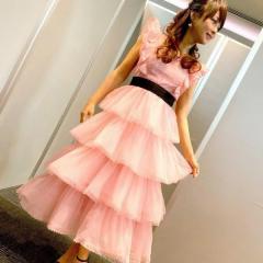 渡辺美奈代、音楽番組での衣装を披露するもネット騒然「オンエアとスタイルが違う」