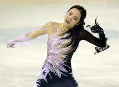 本田真凜は精彩欠き9位、今季初戦SP47・29点