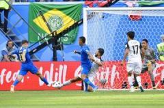 ブラジル2―0コスタリカ 終了間際に2点