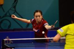 石川佳純、ベスト4 ヨーロッパ女王破った強敵下す<卓球・ハンガリーオープン>