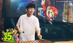 星野源、本人出演のスーパーマリオブラザーズ35周年記念 TVCMに新曲「創造」を提供!