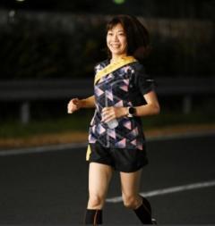 高橋尚子、募金ラン116キロを走破 募金総額は470万円