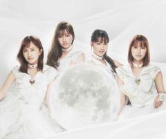 ももクロ、劇場版「美少女戦士セーラームーン Eternal」主題歌『月色Chainon』のジャケ写公開!
