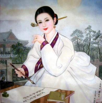 黄真伊 (ファン・ジニ)_portrait3