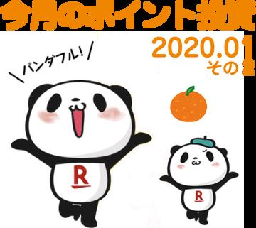 ポイント投資2020.01-2
