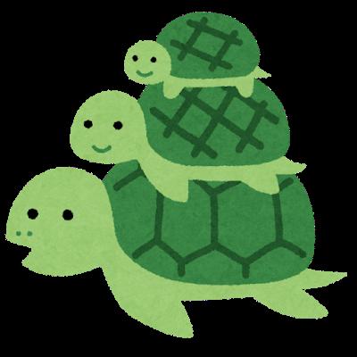 character_turtle_oyako_mago