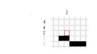 ピクロス説明・灰色の数字