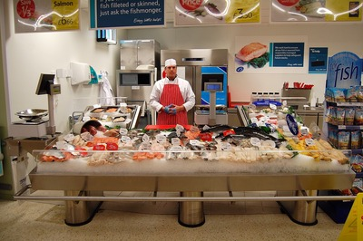 TESCO Fishmonger