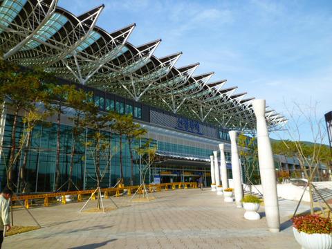 慶州新慶州駅