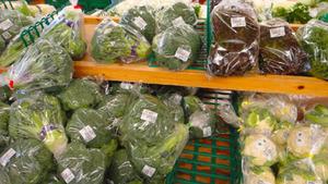 和歌山産直市場よってって野菜売り場