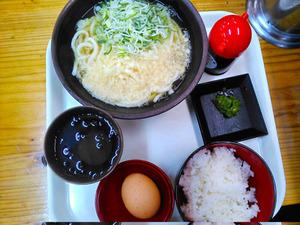 宮崎きっちょううどん朝定食