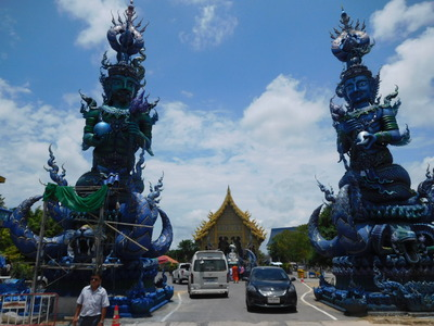 Chiangrai-Bluetemple