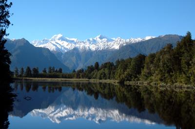 ニュージーランド/マセソン湖